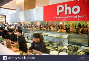 PHO busy restaurant in London