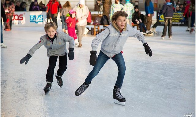 ice skating in leicester