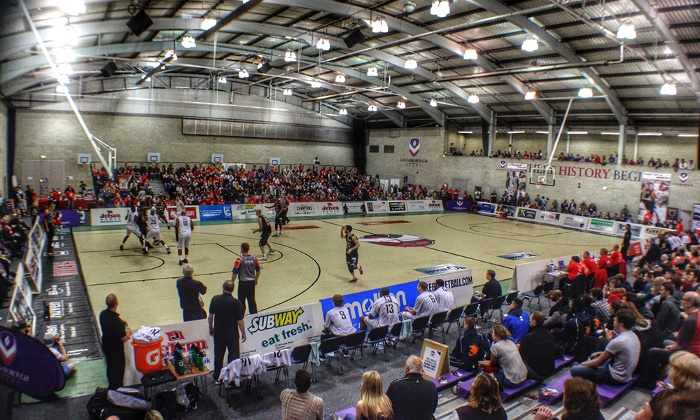 Leicester Riders basketball