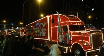 Coca Cola Lorry Leicester