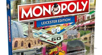 Monopoly Leicester Edition board game